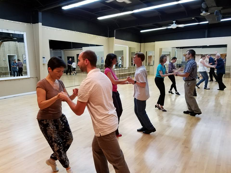 Easy Intermediate West Coast Swing Dance Classes for