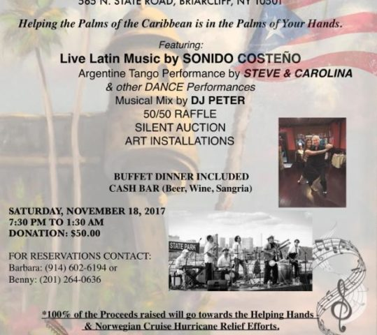 Salsa for a Cause on Sat Nov 18!