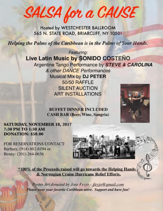 salsa for a cause