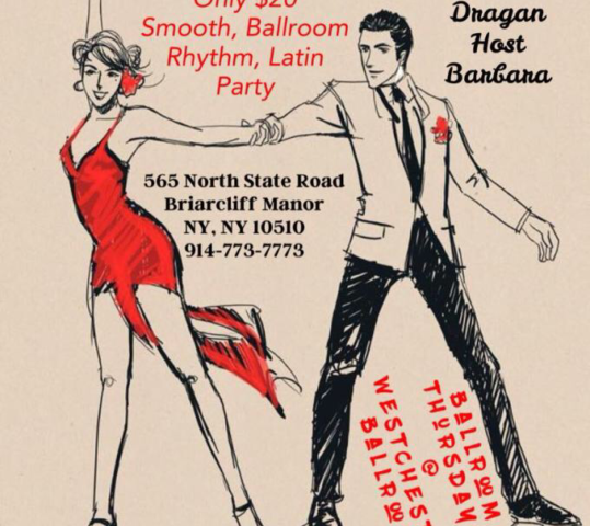 Ballroom Workshops & Social Party Starting Thur Jan 4th!